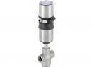 Новые клапаны для смешивания и разделения потоков. 3/2-ходовые клапаны с пневмоприводом Burkert модели 2006/2106