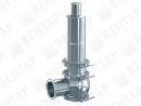 4000. Клапан предохранительный из нержавеющей стали (DN 25…100; PN 0,4…16)
