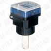 8025. Расходомер лопастной с дисплеем (сигнал: PNP/NPN, реле, 0,5…75000 л/мин)