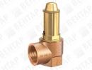 652. Клапан предохранительный из бронзы (DN 15…50; PN 1…16)
