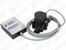 FHKU-LCD. Расходомер турбинный с дисплеем (сигнал: NPN, 0,04…30 л/мин)