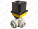 V965-537. Кран шаровой с электроприводом