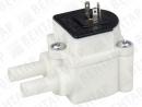 FHK. Расходомер турбинный без дисплея U-образный (сигнал: NPN, 0,03…8,3 л/мин)