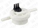 FHKSC. Расходомер турбинный без дисплея для кофемашин (сигнал: NPN, 0,05…3,13 л/мин)