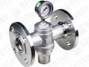 """RFF. Клапан перепускной из нержавеющей стали (регулятор давления """"до себя"""" для пара)"""