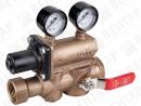 RS. Клапан редукционный из бронзы 5 в 1 (компактный модуль с регулятором давления)