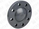 GF 700. Заглушка фланцевая, PVC-U, рифленая контактная поверхность