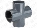 TP CRI. Крестовина, PVC-U, раструб
