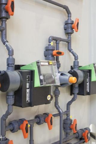 Система трубопроводов Georg Fischer из PVC-U
