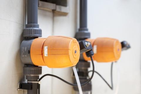 Мембранные клапаны DIASTAR Six из PVC-U с пилотными клапанами 6014