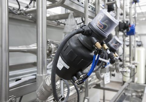 Запорные пневматические клапаны 2000 с блоками управления и обратной связи 8690 (8801-YA)