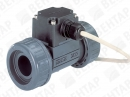 8012. Расходомер лопастной без дисплея (сигнал: 4…20мА, PNP/NPN, 0,5…1000 л/мин)