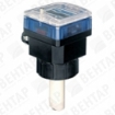 8025. Расходомер лопастной с дисплеем (сигнал: PNP/NPN, 4…20мА, реле, 0,5…75000 л/мин)