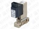 6604. Клапан электромагнитный 2/2-3/2-ходовой (DN 0,6; PN вакуум...3)