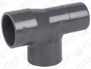 721200. Тройник PRO-FIT 90°, PVC-U, раструб / патрубок-раструб