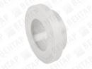 735790. Адаптер фланцевый PVDF, раструб / рифленая уплотн. поверхность