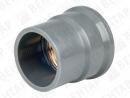 800032. Муфта переходная, PVC-U / латунь, раструб / внутр. резьба G
