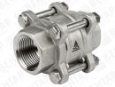 WA-002. Клапан обратный пружинный разборный