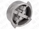 PC11. Клапан обратный пружинный дисковый (для пара)