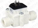 FHKU. Расходомер турбинный без дисплея (сигнал: NPN, 0,04…30 л/мин)