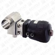 2032. Клапан мембранный T-образный с пневмоприводом (привод Classic)