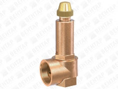 652. Клапан предохранительный (DN 15…50; PN 1…16)