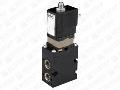 6518. Пневмораспределитель электромагнитный 3/2-ходовой (1300 л/мин)