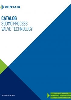 Pentair. Sudmo Process Valve Technology